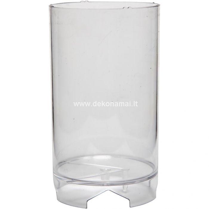 Daugkartinio naudojimo skaidraus plastiko forma žvakių gamybai.<p>I&scaron;matavimai: 130x82mm. </p>