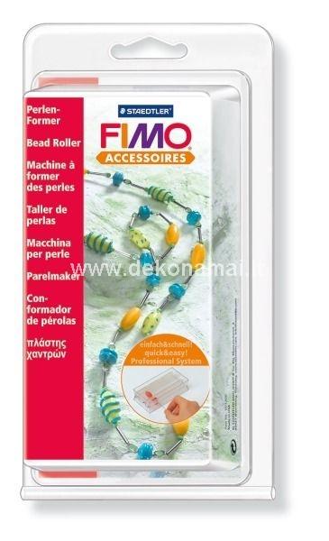 Fimo rutuliukų volelis, galima pagaminti dviejų skirtingų dydžių karoliukus: 28x11mm, 13mm