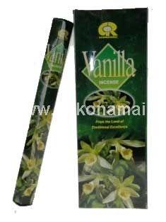 Smilkalai Vanilė<p>Pakuotėje yra 20vnt smilkalų lazdelių. </p><p>Degimo laikas apie 30 minučių.</p><p><br />Kilmės &scaron;alis: Indija</p>